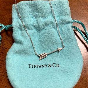 Tiffany & Co. Arrow Pendant, Sterling Silver